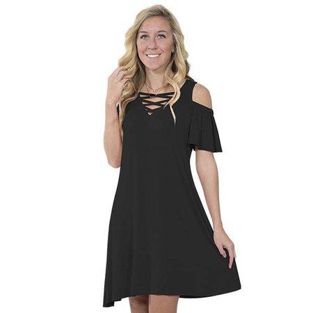 Simply Southern Black Dress