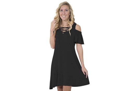 Simply Southern Simply Southern Black Dress