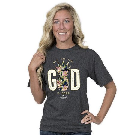 Country Chick God is Good All The Time T-shirt