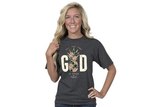 Simply Southern Country Chick God is Good All The Time T-shirt