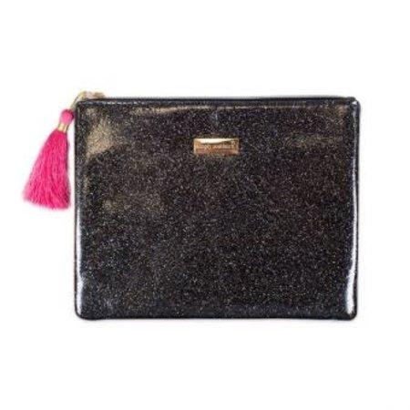Glitter Black Brush Bag