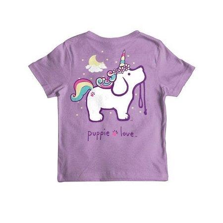Unicorn Pup SS Purple YOUTH