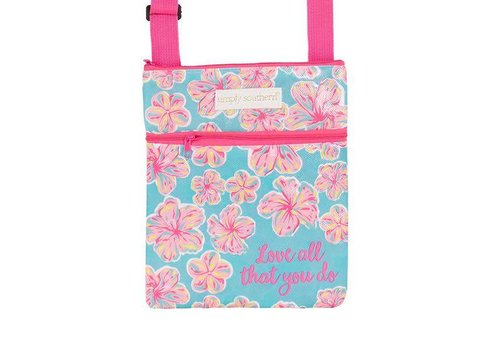 Simply Southern Simply Southern Cross Bag Floral