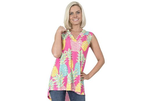 Simply Southern Simply Southern Charleston Sleeveless Top