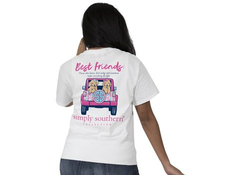 Simply Southern Simply Southern Preppy Best Friends T-Shirt YOUTH