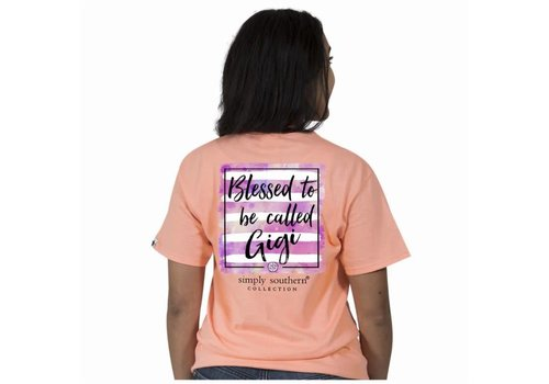 Simply Southern Simply Southern Blessed to Called Gigi T-Shirt