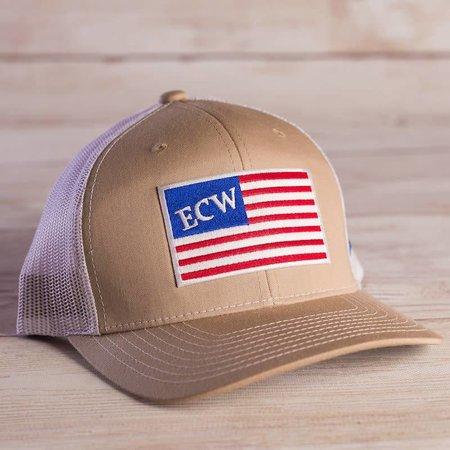 ECW American Flag Patch
