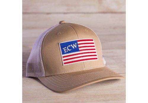 East Coast Waterfowl ECW American Flag Patch