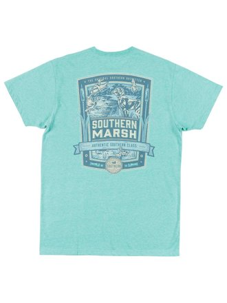 dfb46e98247 Southern Marsh Men s Duck Hunting Washed Kelly Green