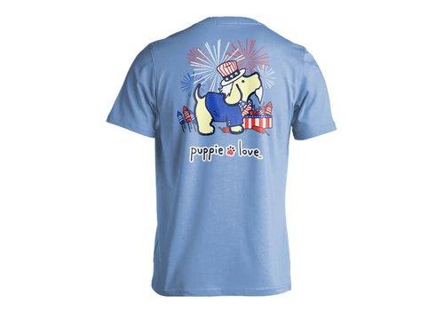 Puppie Love Puppie Love Uncle Sam Pup T-shirt