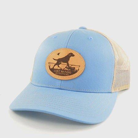 Marsh Lab Columbia Blue | Khaki Hat