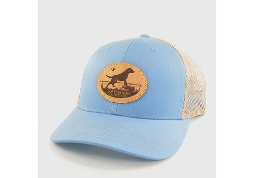 Lost Wando Lost Wando Marsh Lab Columbia Blue | Khaki Hat