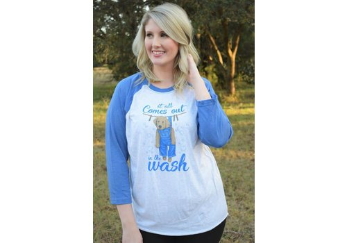 Anna Grace Anna Grace All Comes Out in Wash Raglan
