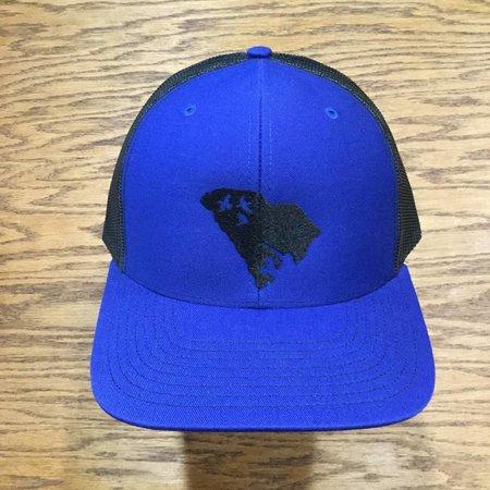 Duck Hunt SC Hat Royal Blue Black
