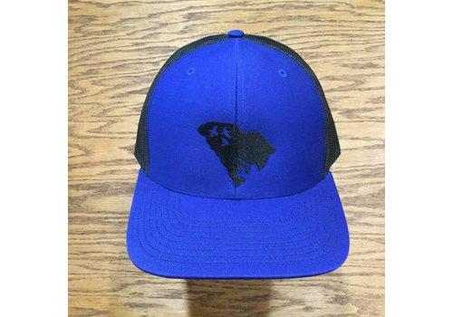 Image Designs Duck Hunt SC Hat Royal Blue Black