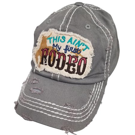 Ain't First Rodeo Torn Hat