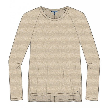 Southern Shirt Riley Raglan Fleece Oxford Tan
