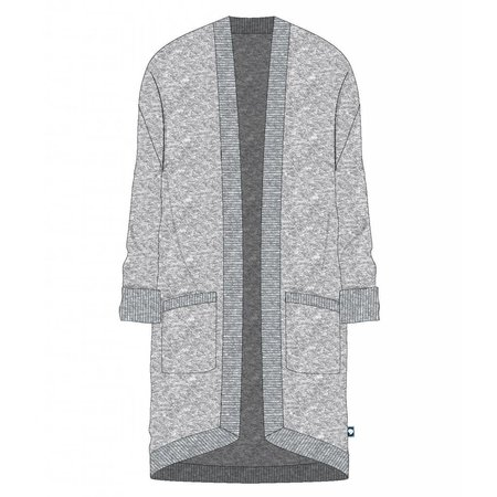 Southern Shirt Cozy Cardi Iron Gate