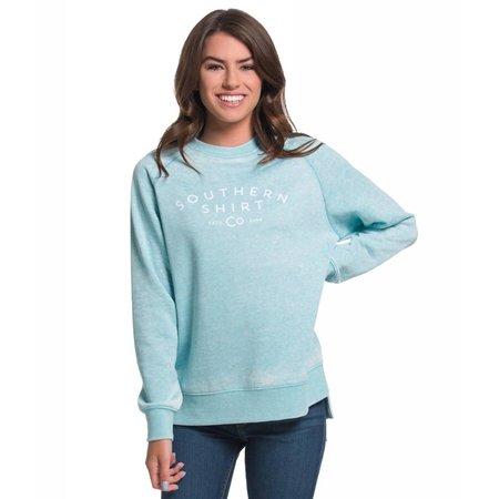 Southern Shirt Velveteen Sweatshirt Aqua