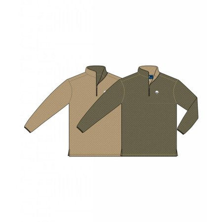 Adventure Pullover Reversible Olive Tan