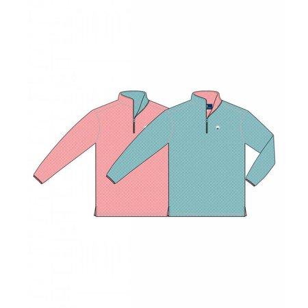Southern Shirt Adventure Reversible Aqua Pink