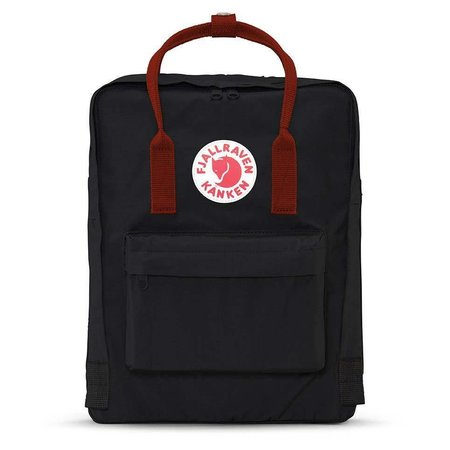 Kånken Backpack Black - Ox Red