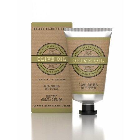 Delray Beach Skincare Hand Cream Olive Oil