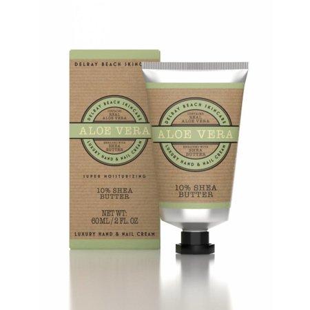 Delray Beach Skincare Hand Cream Aloe Vera