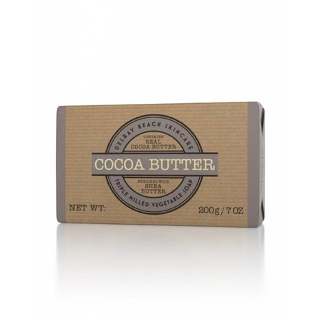 Delray Beach Skincare Triple Milled Soap Cocoa Butter