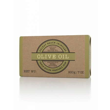 Delray Beach Skincare Triple Milled Soap Olive Oil