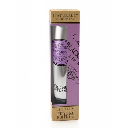 Naturally European Lip Balm Blackcurrant