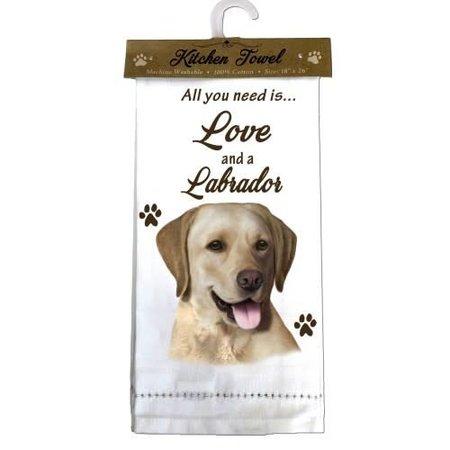 Labrador Yellow Towel Kitchen