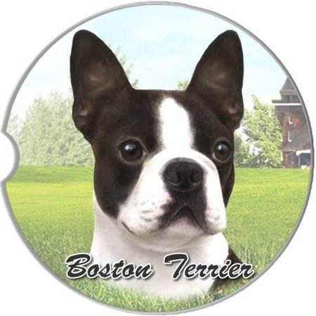 Boston Terrier Car Coaster