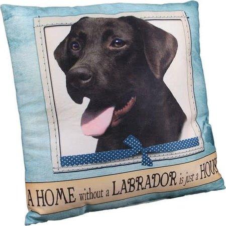 Labrador Chocolate Pillow