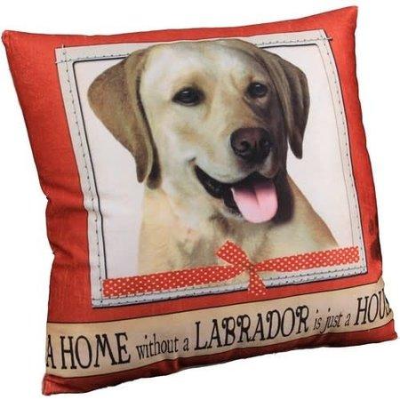 Labrador Yellow Pillow