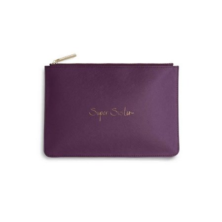 Perfect Pouch |Super Sister | Purple Berry
