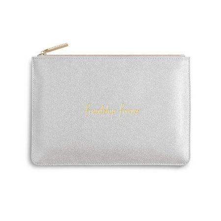 Friendship Forever | The Perfect Pouch | Shiny Silver