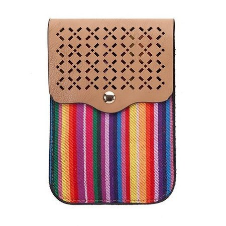 Bonita Perforated Cross Body Bag With Touch Screen