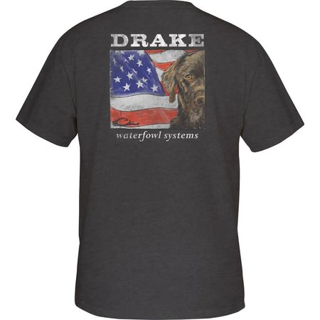 Patriotic Lab Charcoal Heather