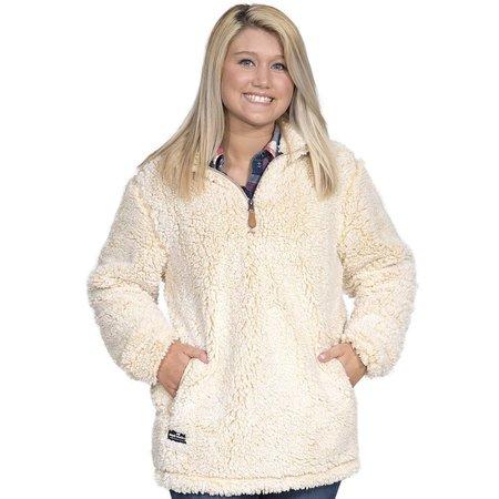 Sherpa Pullover Cream