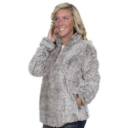 Sherpa Pullover Pearl