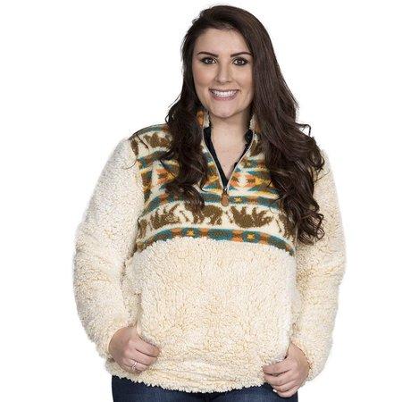 Sherpa Pullover Bear