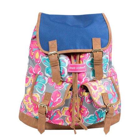 Floral Bookbag Bag