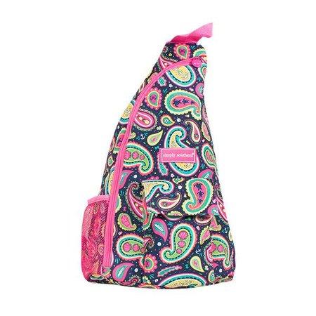 Paisley Sling Bag