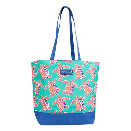 Simply Southern Turtle Tote Bag