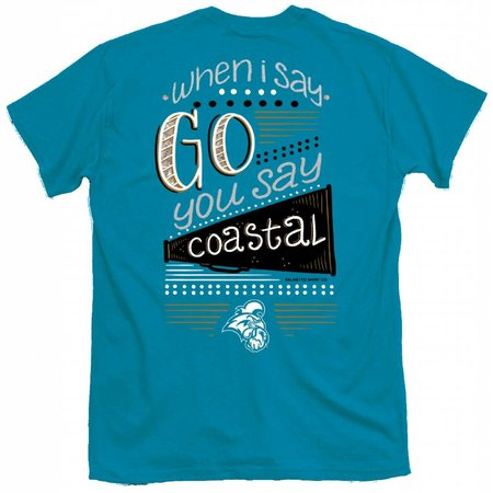 Coastal Carolina University When I Say Coastal Teal