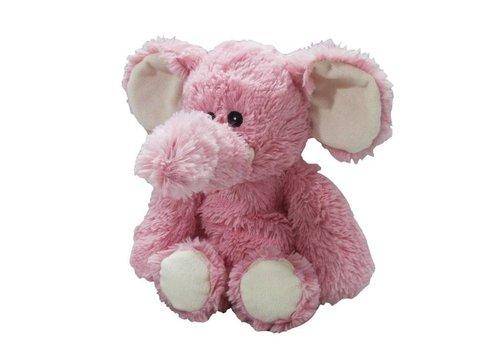 Intelex Elephant Warmies Plush Pink