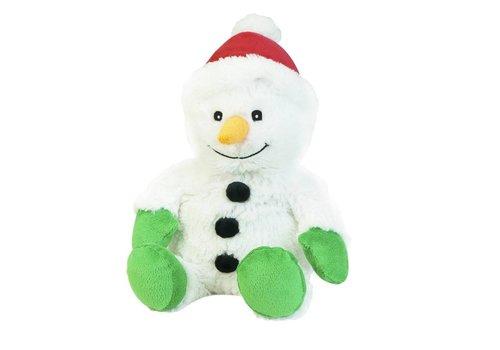 Intelex Snow Man Warmies Plush