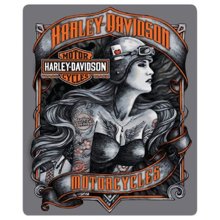 Harley Davidson®  Tonal Babe Sign