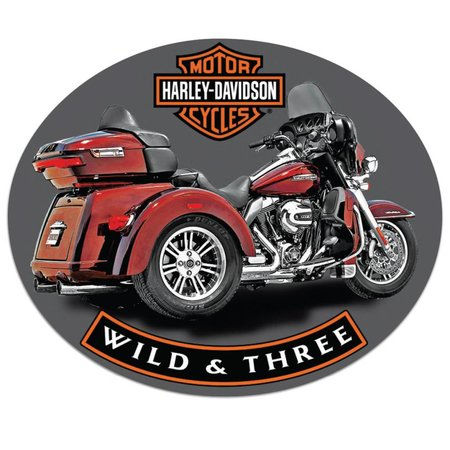 Harley Davidson® Wild & Three Sign